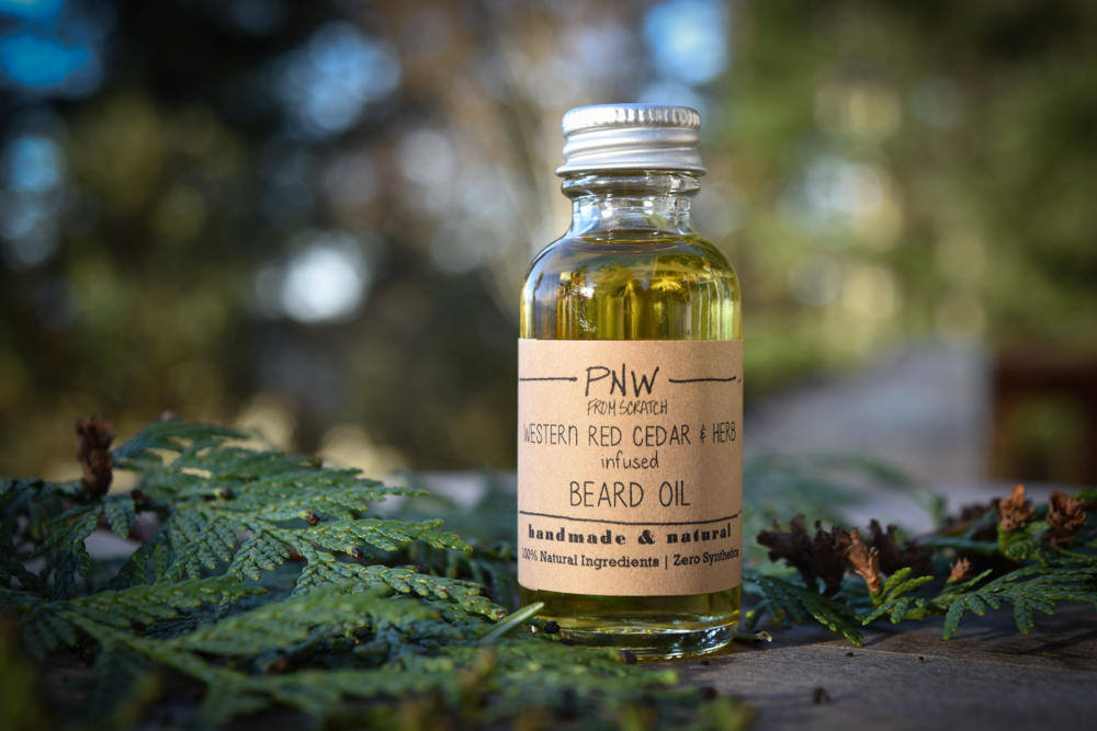 PNW Original Cedar & Herb Infused Beard Oil